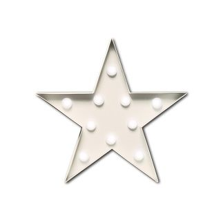 Small Star Marquee Lights Light up any room in the house with this adorable mini marquee light.  Lovely for a side table or easily hung on the wall. $100.00 #sweetcreations #baby #nursery #kids #newparents #parenting