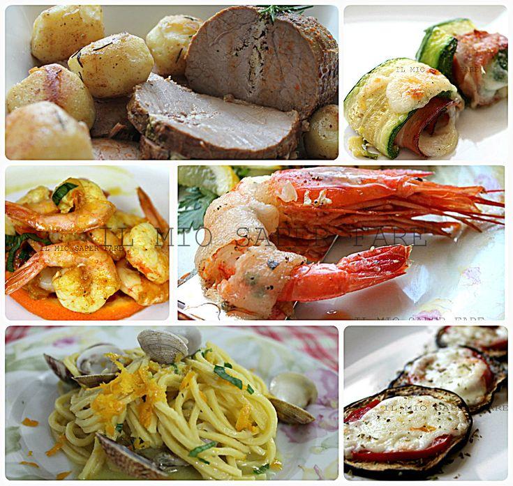 Idee per il pranzo di natale che vi permetteranno di combinare un menù che soddisfi le vostre esigenze, i gusti dei vostri ospiti e magari poco impegnativo.