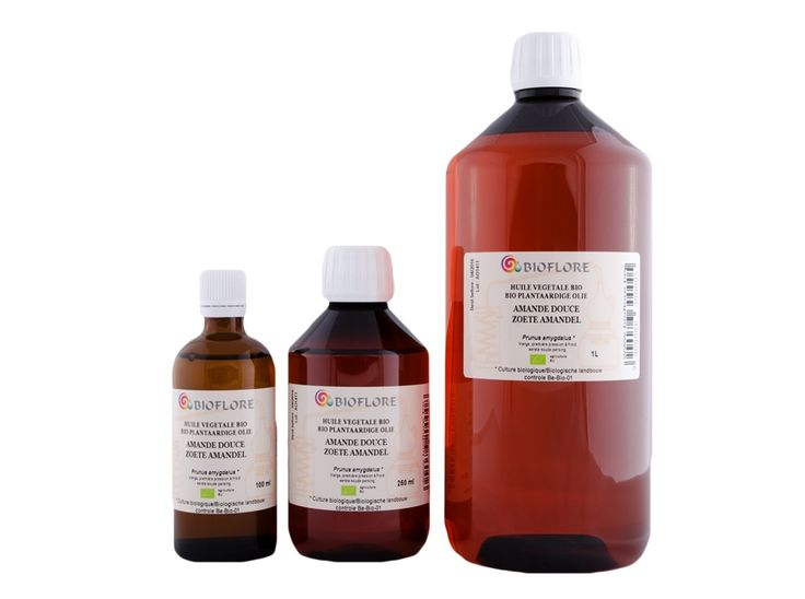 9.50€ ---- Bioflore - 100ML - Vierge zoete amandelolie, bio