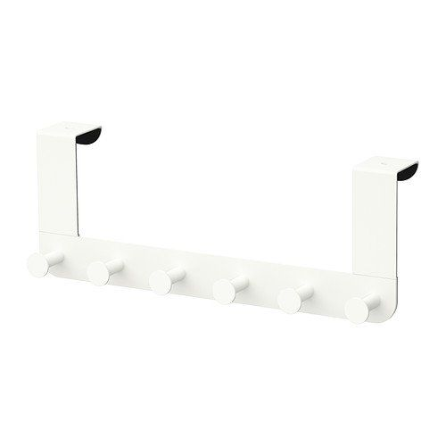 ENUDDEN Hanger for Door, White, Height: 13 cm Width: 35 cm, Covered back prevents scratching of door. Hangs over the top edge of the door and helps you convert unused space into a storage place for bathrobes and bags. ENUDDEN http://www.amazon.co.uk/dp/B00RIA6UMM/ref=cm_sw_r_pi_dp_DXGnwb1T3TE62