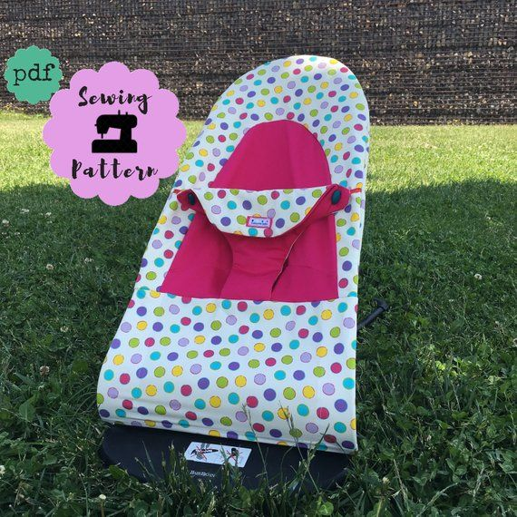 Babybjorn Seat Replacement Cover Pdf Pattern For Balance Bouncer Soft Bouncer Cover Sewing Pattern Instant Download Baby Bjorn Baby Bjorn Baby Cover Baby Design
