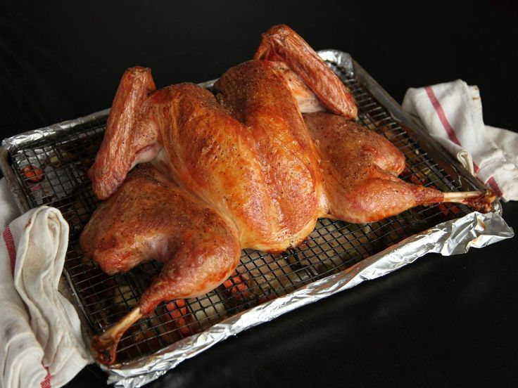 It's the fastest way you'll ever cook a turkey. It also delivers stunningly crisp skin, and perfectly cooked breast and leg meat along with a flavorful gravy.