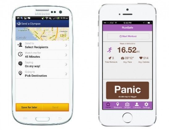 New Apps Keeping Runners Safe Running gadgets, Safety