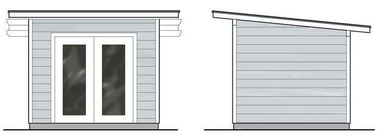 56 best mid century modern garage workshop images on for Mid century modern shed