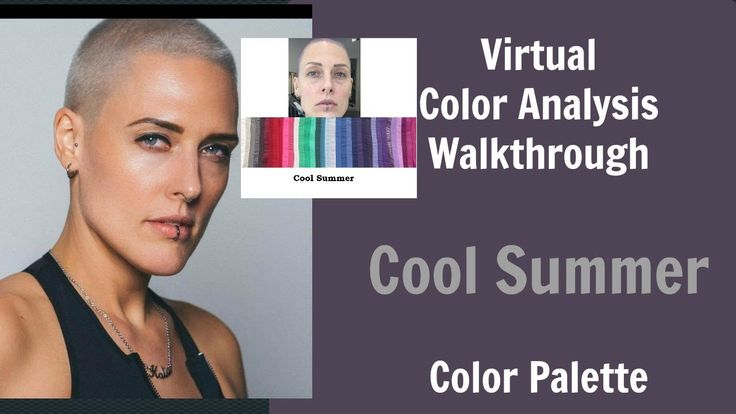 Cool Summer and Winter Color Palette Color Analysis | Cool Skin Underton...