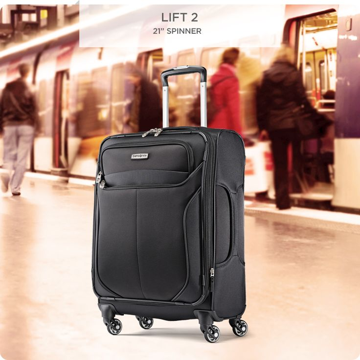 """From weekend trips to long vacations and anywhere in between, our Samsonite Lift 2 21"""" Spinner has you covered."""