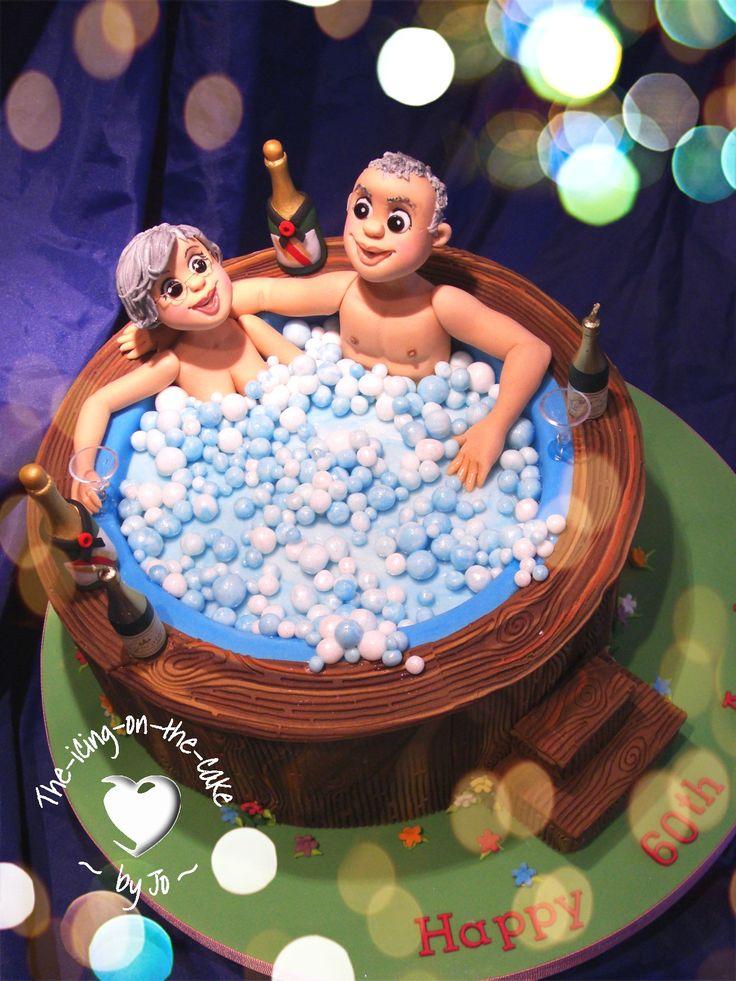 Hot tub cake!