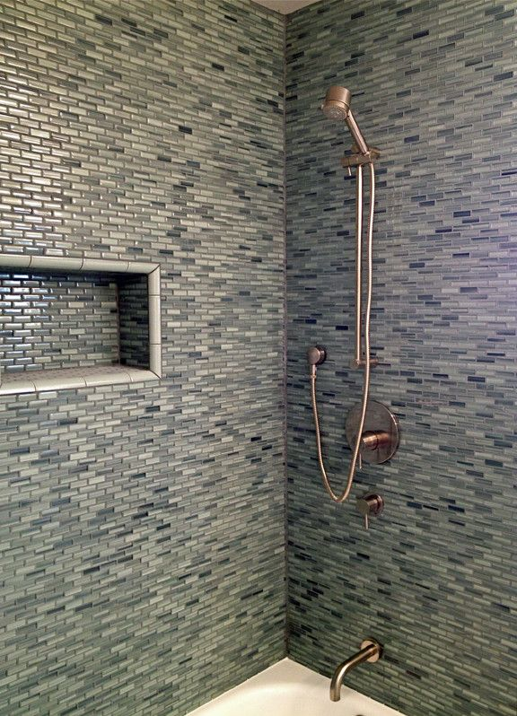 Surfz Up Hand Painted Glass Mosaic Subway Tiles | Rocky Point Tile - Online Glass Tile and Glass Mosaic Tile Store