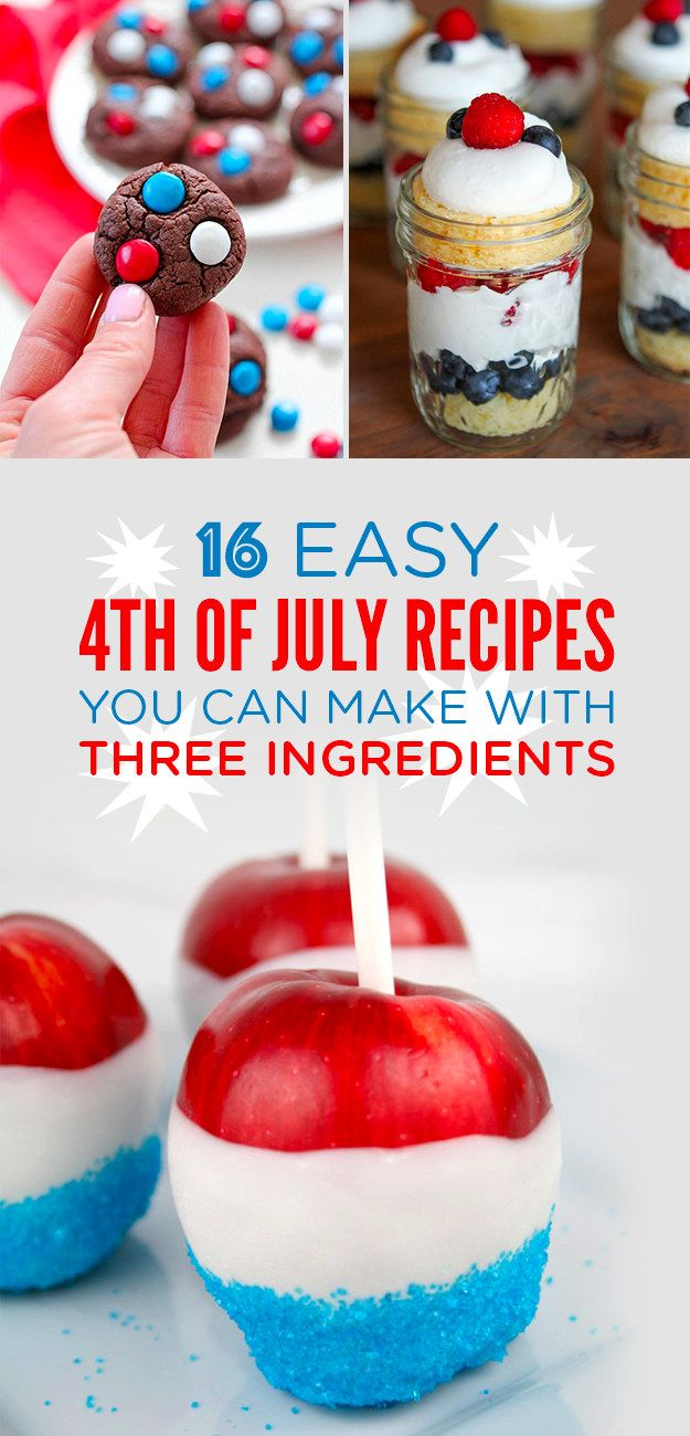 419 best buzzfeed food images on pinterest recipes cooking 16 tasty 4th of july treats that only require three ingredients forumfinder Image collections