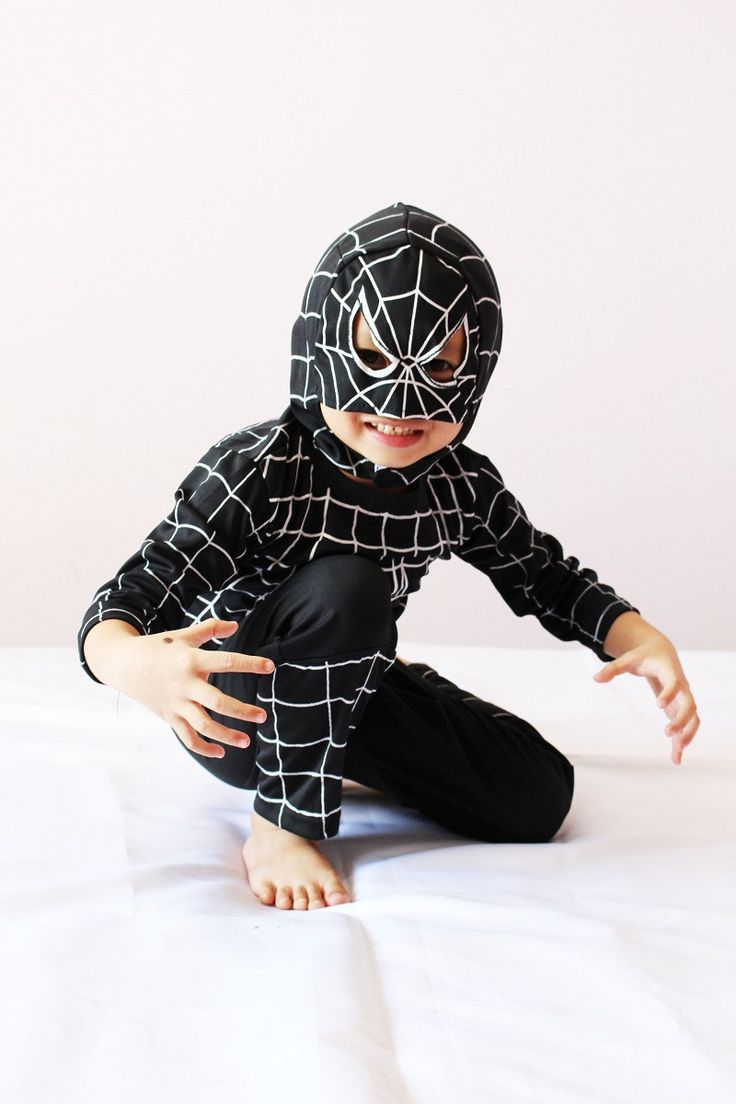 Spiderman Halloween Costume, 3-4-5-6-7 Boy Carnival Cosplay, Children Party Role-Playing Custume, Long Sleeve, Free Shipping