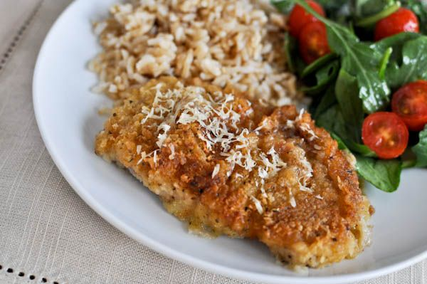 Buttermilk Soaked Baked Parmesan Pork Chops - now I do buttermilk oven fried chicken and you will nerver ever find juicier chicken - never dry. Can't wait to try pork chops marinated in buttermilk. Believe me you never taste the buttermilk.