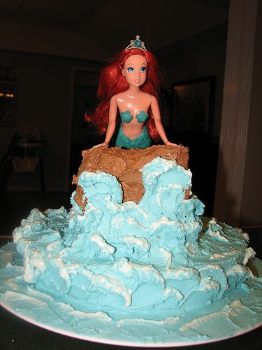 The Little Mermaid 3 by Cakes by AmyBeth, via Flickr