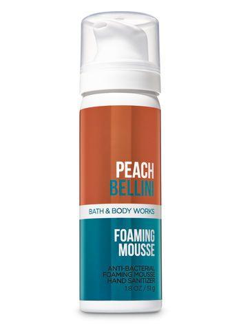 Peach Bellini Foaming Hand Sanitizer Bath Body Health Beauty