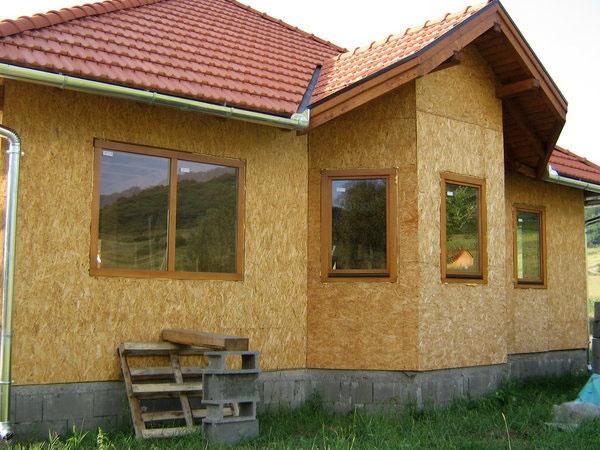 Casa ecologica pe un nivel