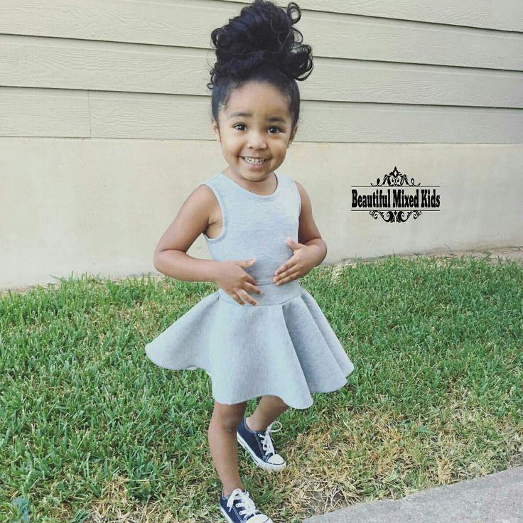 Ella Jayce - 4 Years • Mom: African American • Dad: Mexican ❤ FOLLOW @beautifulmixedkids on instagram WWW.STYLISHKIDSAPPAREL.COM