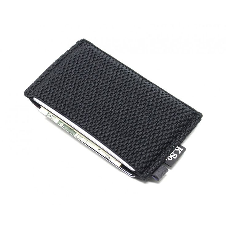 Slim Minimalist Wallet & Card Holder 'Slimz Black'