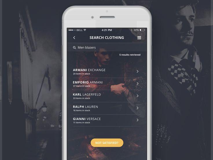 Fashion App - Search by Robert Berki