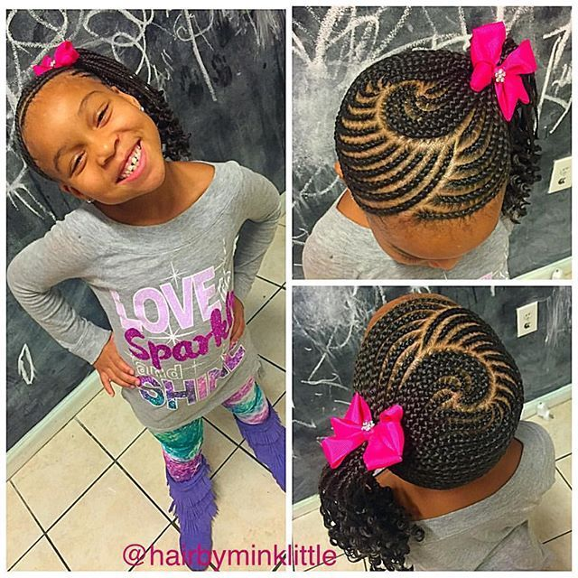 Image Result For Cornrow Braids For Little Girls Kids