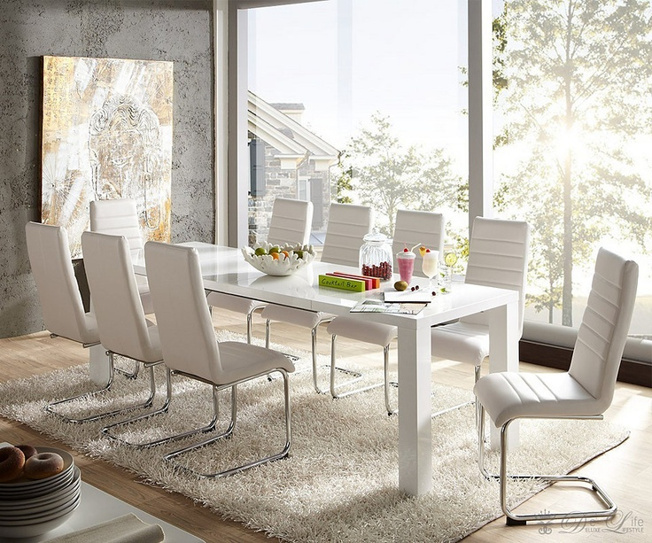 7 best bartisch images on Pinterest Dining room, Homes and - hochglanz weiss modernen apartment