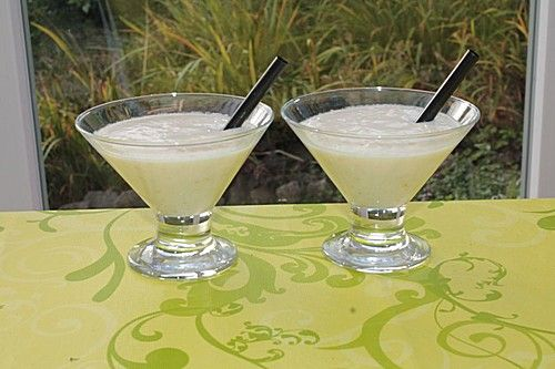 Birnen-Joghurt-Smoothie