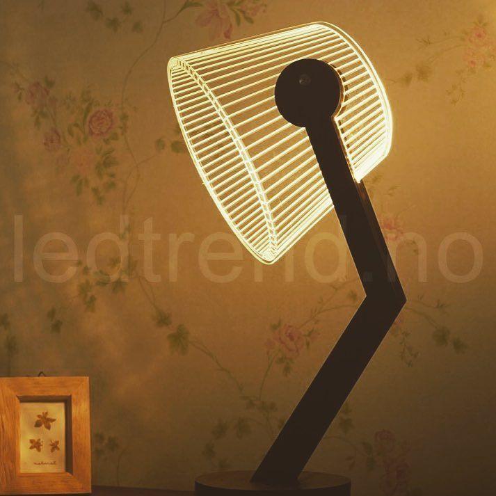 Det er fint å ha noe stilig og unikt å se på inne hva med denne 3D lampen på nattbordet? Finner den i nettbutikken vår  #ledtrend #ledlampe #3dlampe #ledsquad #unikgave #lys #varme #leselys #pynt #tilfest #interiør #tilhuset #tilhagen #hagefest #pynt #husgave #partypynt #partyplanner #interiørdetaljer #interior #hus #hytta #interiordesign #interiør123