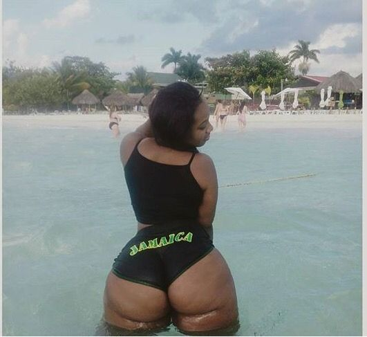 All jamaican booty flaven younger white