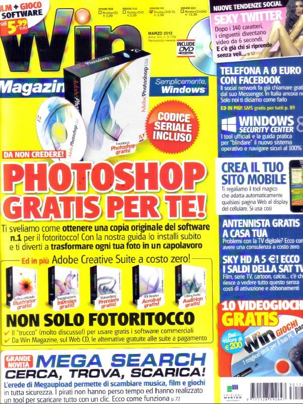 Win Magazine Italia - Marzo 2013 Italian | PDF | 131 pages | 175 Mb