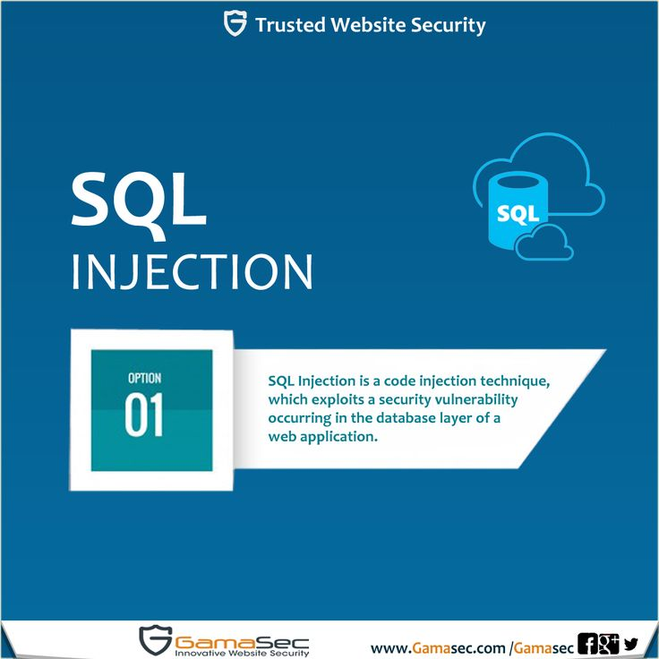 SQL Injection is a code injection technique, which exploits a #Security_Vulnerability occurring in the database layer of a #web_application. The #vulnerability is present when user input is incorrectly filtered for special characters embedded in a SQL statement and thereby unexpectedly executed, i.e. the input was injected into the #SQL statement issued by the web application.