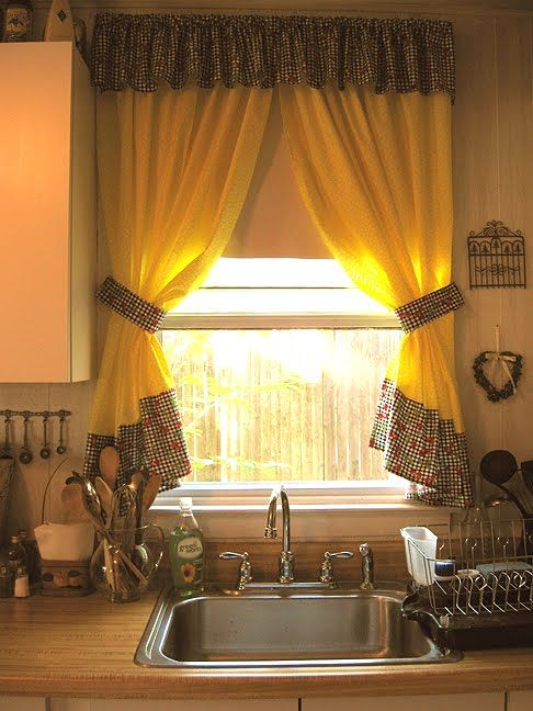9 best Cortinas para Cocina images on Pinterest | Curtain ideas ...