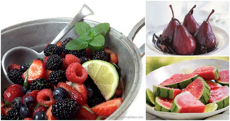 To help you get in your daily servings ;) Alcohol Soaked Fruit Recipes!