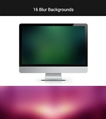 16 Blur Backgrounds by @rometheme www.rometheme.com