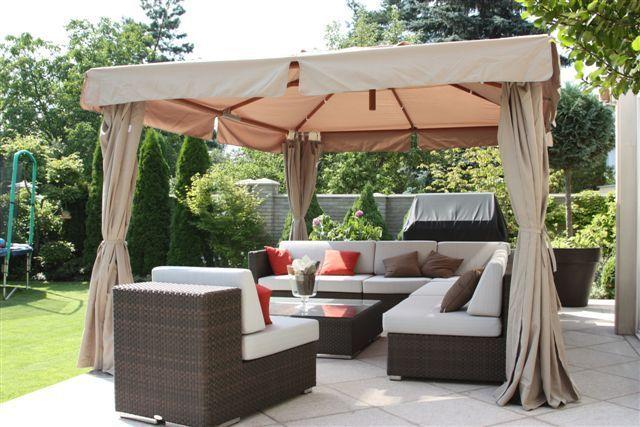 Altana/wiata ogrodowa MEGA GAZEBO 300X300X300 cm, Miloo Home - Wyposażenie wnętrz