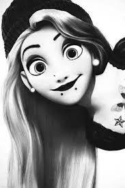 Resultado de imagen para princesas de disney rockeras rapunzel