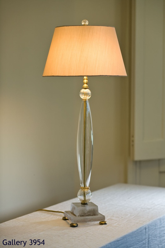 Fifi Laughlin Table Lamps   Gallery 3954, Single Clear Glass Paris @  Www.fifiblaughlin