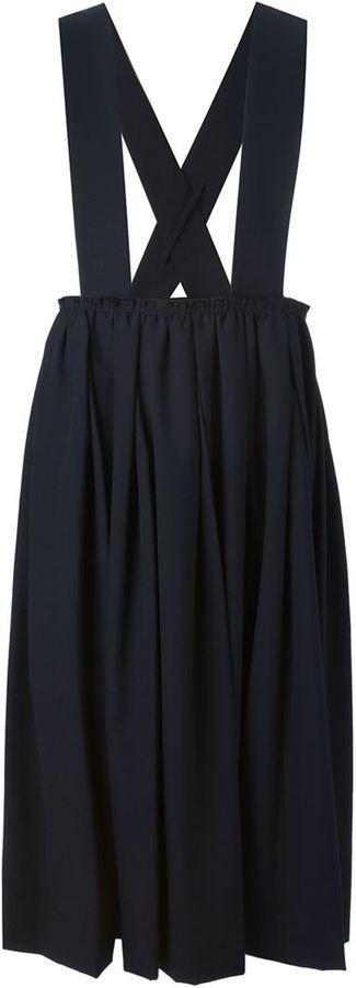 Comme Des Garçons brace strap skirt