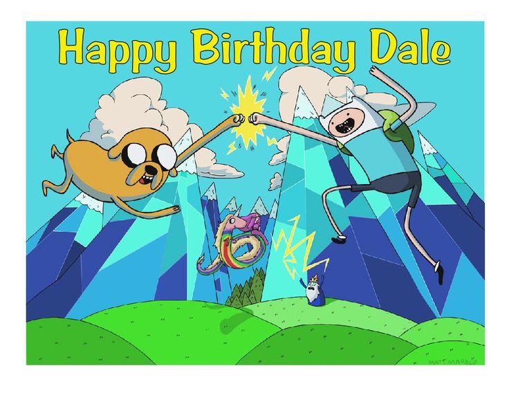 adventure time happy birthday cake | pin adventure time finn and jake meet fiona cake on pinterest