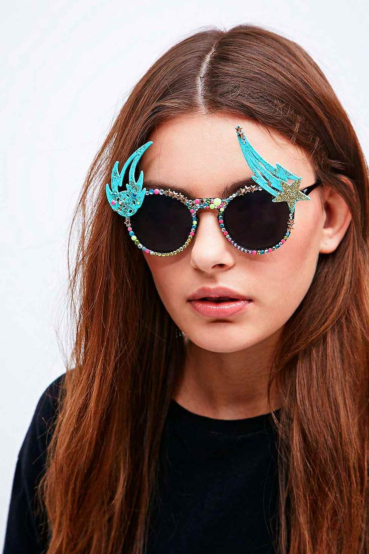 Shop Spangled Shooting Star Sunglasses at Urban Outfitters today. We carry  all the latest styles, colours and brands for you to choose from right here.
