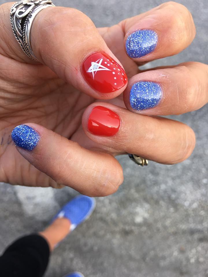 65 Vibrant 4th July Nails Idea For A Perfect Look Nails Holiday Nails July Nails
