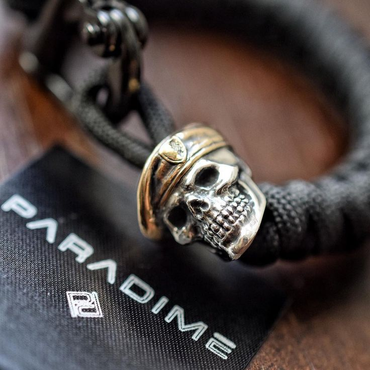 "@para_dime on Instagram: ""Check out this handcrafted Beret Skull by @gdskullsusa  This wrist piece will be in-store online soon! www.theoriginalparadime.com"""