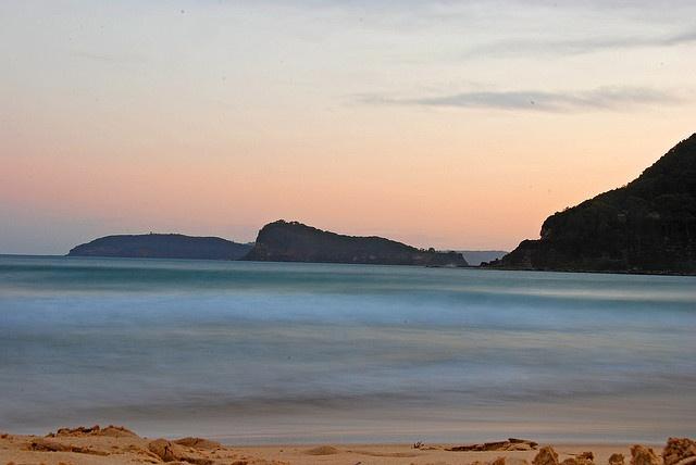 Sunset Umina Beach by bivoir, via Flickr