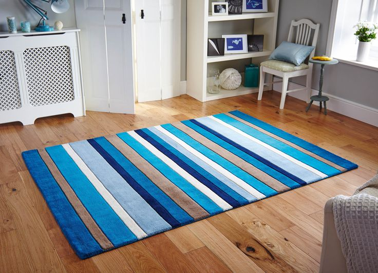 The Jazz Stripes Rug Collection Is Handmade In India With A Luxurious Wool Pile That Designed To Offer Superior Levels Of Comfort And Luxury