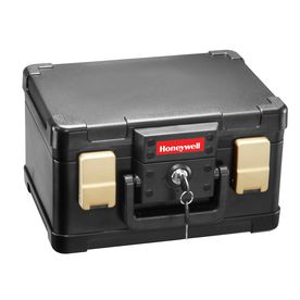 Honeywell 0.15-Cu Ft Fire Resistant Waterproof Chest Safe 1102