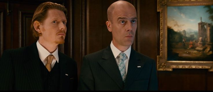 Gambit (2012) the hotel clerks, __________ and Pip Torrens
