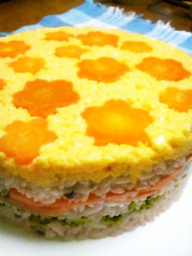 sushi cake for girls day