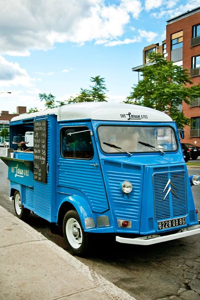 Café Larue  fils is not only the greatest coffee shop in town it's now also the nicest coffee truck in Montreal !!!!! LOVELY