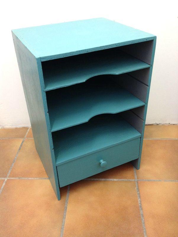 Idee Theme Chambre Bebe Garcon : Petit meuble bleu et gris  Deco  Pinterest