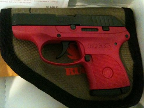 Raspberry Ruger LCP .380....LOVE!!
