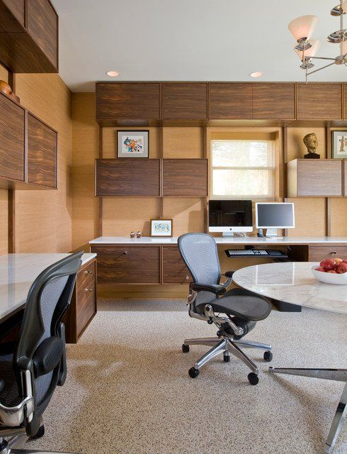33 Tiny Yet Functional Home Office Designs Modern Office Design