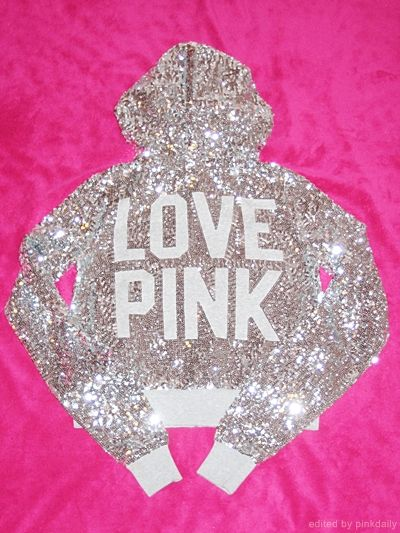 Anything from PINK at Victoria's Secret! The more bling, the better! I love the boyfriend sweat pant size xs. For the hoodie, size s.