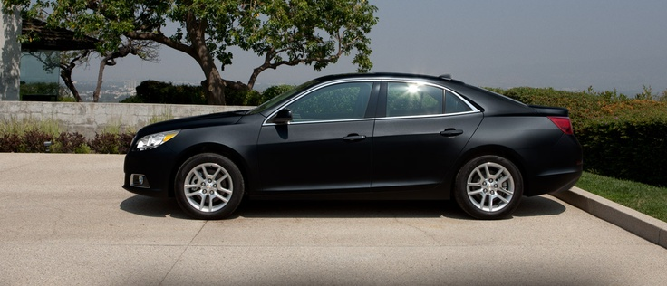 2012 Chevy Malibu, Hawkeye Black. I rented this car and I must admit, it's nice.